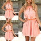2015 Sexy Women Summer Casual Sleeveless Party Evening Cocktail Mini Dress