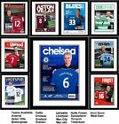 Football Club Magazine Front Page Personalised for a great gift