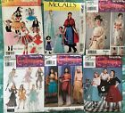 Adult Costume Patterns Multiple size & style options Sold Individually