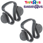 BABIES R US® Travel Safety Bag Clips (Pack of 2) - for Pram Pushchair Buggy etc