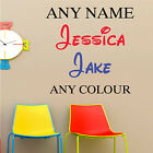 PERSONALISED BOY GIRL DISNEY STYLE FONT ANY NAME BEDROOM WALL ART STICKER