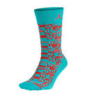 Jordan Air Sneaker Men's Sport Socks Turbo Green/Infrared 631714-477