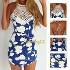 Sexy Women Summer Bandage Bodycon Lady Evening Party Cocktail Short Mini Dress