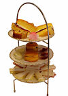 Stainless Steel Tiered Afternoon Tea Stand / Cake Stand VARIOUS SIZES AVAILABLE