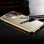 New Luxury Aluminum Thin Mirror Back Case Cover For iPhone 5 5S 6 4.7 Plus 5.5