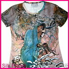 MUCHA WINTER SEASON T SHIRT NOUVEAU FINE ART PRINT POSTER PAINTING