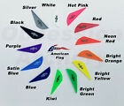 Bohning Blazer Vanes 12 36 50 or 100 Pack Arrow Fletching 13 Color Choices