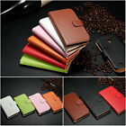 Luxury Genuine Leather Flip Wallet Case Cover For Samsung Galaxy S3 / S4 / S5