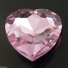 27mm Pink Beauty Crystal Rhinestone Heart Shape Faceted Rhineston Finding 35917
