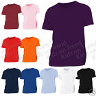 Kids Top T Shirt  Plain 100% Cotton  Value T Shirt 2 3 4 5 6 7 8 9 10 1112 13