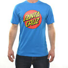 Santa Cruz Men's Classic Dot Cotton T-Shirt - SS15: Swedish Blue