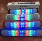 Portable FM USB TF AUX MP3 Player LED light Show MIC Wireless bluetooth speaker