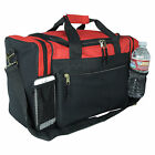 """Duffle Duffel Bag Travel Gym Bag Carry-On Luggage Red Black Blue Gold Gray 17"""""""