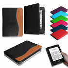 Folio PU Leather Case Stand Cover for Kindle 7th Gen (2014 Release) Sleep/Awake