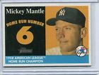 2007 Topps Heritage Baseball Card Mickey Nantle New York Yankees NR MT # MHRC 6