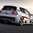 German flag auto beltline car sticker Graphics decal for VW Golf POLO Scirocco
