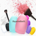New Cleaning Glove MakeUp Washing Brush Scrubber Cosmetic Clean Tool New