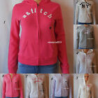 new ABERCROMBIE KIDS GIRLS hoodie sweater SZ S M L XL NWT BLUE lilac PINK cotton