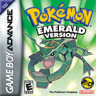 POKEMON EMERALD VERSION GAMEBOY ADVANCE GAME GBA AUTHENTIC SAVES!!