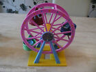 PEPPA PIG GARAGE MECHANIC PLAYSET FERRIS WHEEL BIG WHEEL THEME PARK FIGURE
