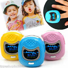Alarm*Children/Kids pulsioximetro  Fingertip Pulse Oximeter SPo2 Blood oxygen PR