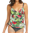 Fantasie Swimwear Malola Plunge Tankini Top Raspberry 5902 NEW Select Size