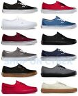 VANS AUTHENTIC CLASSIC SHOES ALL COLORS ALL SIZES