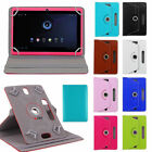 360� Folio Leather Case Cover For Universal Android Tablet PC 7 8 9 10 10.1