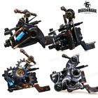 Tattoo Supplies Irons Hand Made Tattoo Machine Gun Shader Liner 10 Wrap Coils N