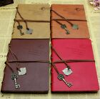 Hot Retro Leather Notebook Journal Diary Notepad String Key Sketchbook Memo - CB