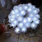 Fairy String Light 40Led Snow Garden Party Christmas Holiday Seasonal Decoration