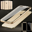 New Aluminum Ultra-thin Metal Case Clear Back Cover for iPhone 6 6+ Plus 4.7 5.5