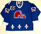 ADAM FOOTE QUEBEC NORDIQUES CCM VINTAGE 1991 NHL 75TH ANNIVERSARY JERSEY NEW