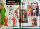 Child & Adult Costume Sewing Patterns sold individually Multi Style Options uncu