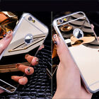 1X NEW Luxury Soft Tpu Ultra-thin Mirror Case Cover for iPhone 6+ Plus 5.5 4.7
