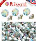 SWAROVSKI CHATON CLEAR CUT AB CRYSTALS FOILED POINTED BACK XIRIUS 1088