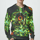 illuminati All Seeing eye DMT DRUG Dark Psychedel sweatshirt Hoodie for Men