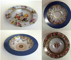 Museum Collection Floral Tin Enamel BOWLS Stunning  23cm Picnic Festival Camp