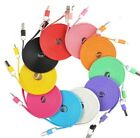 1 Meter Flat USB Data Charge Charger Cable Lead For iPhone 5S/C 6 iPod iPad Mini