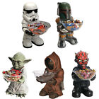 Star Wars Giant Figure And Candy Bowl New + Official In Box Jawa/Yoda/Darth Maul