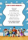 Personalised Disney Infinity Style Party Invites - All Occassions