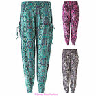 QUALITY NEW WOMENS HAREM PRINTED ALI BABA LADIES PAISLEY TROUSERS SIZES 8-16