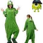 Monsters Pajamas Kigurumi Onesie Unisex Costume Cosplay Animal Adult Sleepwear