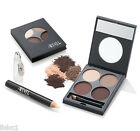 Ardell Eye Brow Defining Kit Defining Palette Wax Grooming Pencil Duo Brush