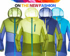 New Mens Rain Jacket Sun Protection Windproof Hooded Quick Dry Super Thin Coats