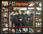 THE SOPRANOS - PRINT SIGNED BY 5 POSTER 86 X 69 CM READY TO FRAME
