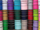 New 10 metres of Grosgrain Ribbon 10mm 16mm 25mm 38mm Various Colour