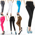 Ladies Harem Baggy Dance Sport Sweat Pants Trousers Slacks Full Length Leggings