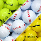 Golf Driving Range Balls - New Or Used/Recycled - White Yellow - 1 Piece 2 Piece