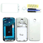 Full Replacement Housing Case + Outer Screen Glass For Samsung Galaxy S4 i9500